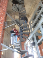Staircase to the Bell Tower